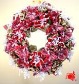 聖誕裝飾花圈