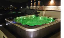 五星級酒店戶外水療按摩浴缸