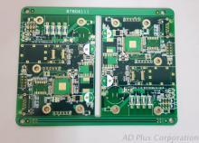 多层印刷电路板 (Multi-layer PCB - 6 layers)