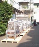 機械包裝箱, 機械箱量身訂製, 檢疫熱處理, 鎖螺絲固定, 棧板底板製造,