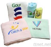 廣告贈品刺繡毛巾