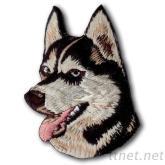 動物刺繡貼