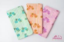 手帕长巾 糖果 樱花