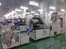 各類服裝商標印刷機,全自動絲印機500*600mm