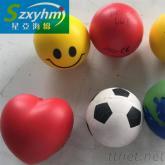環保PU捏壓泄力海綿球, 解壓發泄PU彈力球