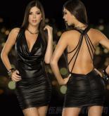 4129漆皮裝, 鋼管舞表演性感短裙