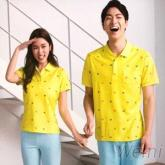 幃-PK網眼布短袖POLO衫(黃,綠,桃色)