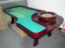 标准单正轮盘桌