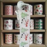 耶誕節印刷捲筒衛生紙