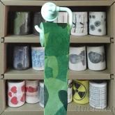 迷彩印刷捲筒衛生紙