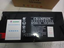 免維護冠軍蓄電池NP200-12