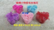 婚禮小物, 玫瑰花造型香皂
