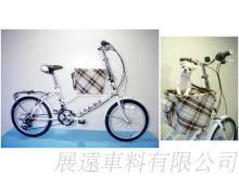 豪華版 20吋 21速 SHIMANO 摺疊 寵物自行車
