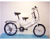 平價版 20吋 21速 SHIMANO 摺疊 親子車