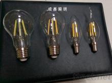 LED E27爱迪生钨丝球泡灯 黄/白 另有蜡烛灯