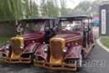 六座老爷观光车,礼宾婚礼婚庆用观光车,高档电瓶车四轮观光车