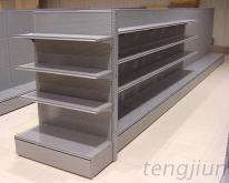 賣場設備-洞背板A型展示架