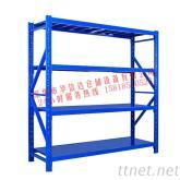 企航倉儲貨架中型輕型倉庫超市展示架鐵架角鋼貨架家用儲物置物架