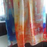 长围巾.缎绸.围巾
