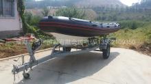 杰世游艇3米4米5米7米玻璃鋼橡皮艇現貨