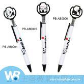 貓熊造型公仔鞦韆原子筆中油筆