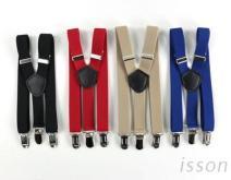 儿童吊带 Y型吊带 客制吊带 松紧带吊带 缇花吊带 素色皮革 祎尚