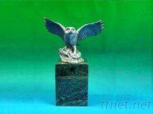 雪鴞-金屬藝品