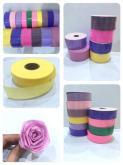 棉纸缎带, DIY素材 切货批发库存