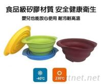 多功能 矽膠摺疊碗 庫存 切貨 批發