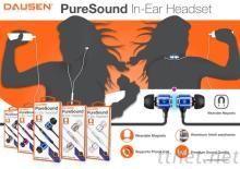 DAUSEN入耳式立體線控耳機