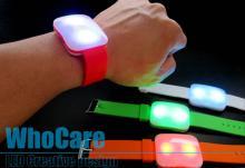 LED重金屬手鐲, 自動閃光手鐲, 表演發光手環, 演唱會閃光手環開發設計