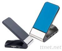 手機座充電器讀卡機HUB USB2.0