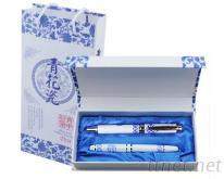 青花瓷商务套笔