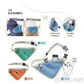 多功能旅行貼身收納腰包