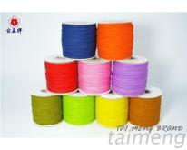 台孟牌染色棉繩