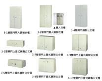 双开门衣柜, 公文柜 (政府机关正字标记共同契约产品)