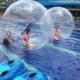 充氣球, 沙灘球, 水上步行球