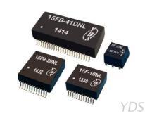 PoE 15FB 10 / 100 / 1000 Base-TX PoE & PoE+ SMD網路濾波器