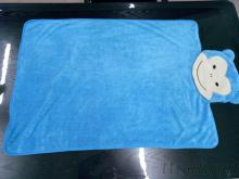 蓝色猴子造型毯