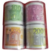歐元印花衛生紙, 美元卷紙, 美金捲筒紙, 彩色圈圈紙