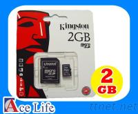 Kingston 2G 2GB microSD micro SD SDHC TF 記憶卡