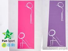 創意瑜珈墊(快樂操)瑜伽墊運動墊止滑墊