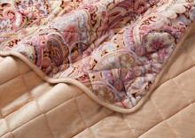 繽粉印花雙層毛毯