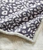 法兰绒印花毛毯