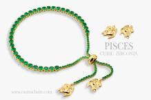 PISCES 925純銀寶石手鍊