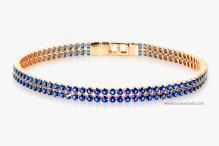 S1527BLP 925纯银手环宝石链