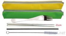 不锈钢吸管餐具组