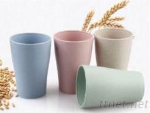 四入小麦环保水杯组