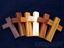 十字架/木製十字架/宗教用品/雷射雕刻