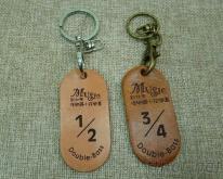 皮革钥匙圈/钥匙圈/礼品/赠品/激光雕刻